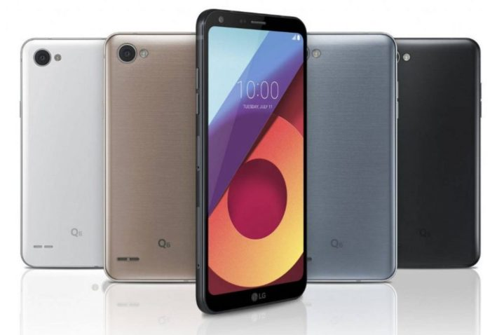 LG Q6 android Oreo iniziato in Corea