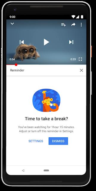 Youtube aggiornamento che porta le statistiche sul tempo trascorso guardando i video della piattaforma