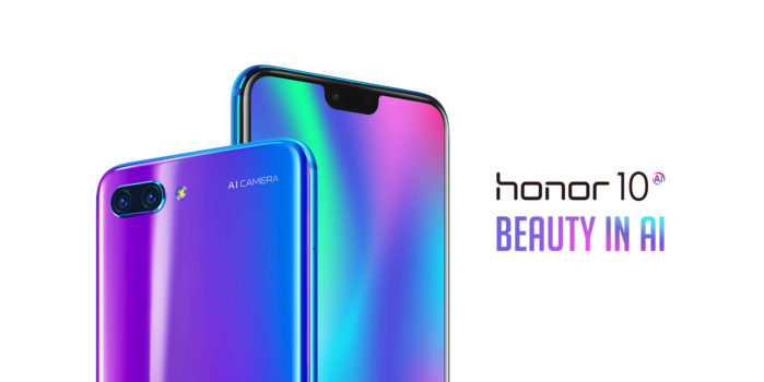 Honor 10 128GB a 339 euro colori Nero, Blue e Verde-viola