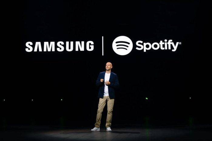 Samsung e Spotify c'è una partnership: i dettagli