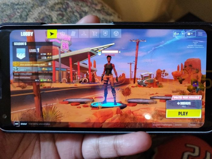 Fortnite per Android: gameplay su Galaxy S9 in anteprima