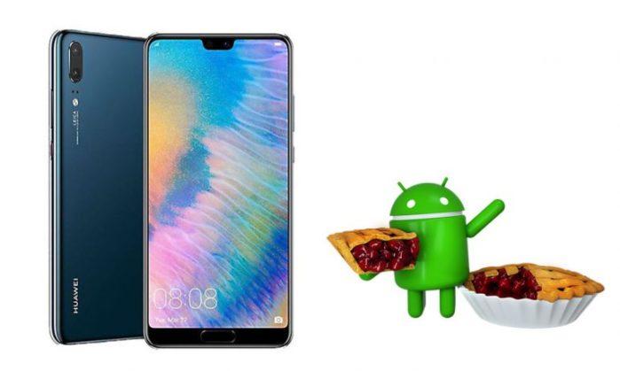 Huawei P20 android Pie: aggiornamento a settembre?
