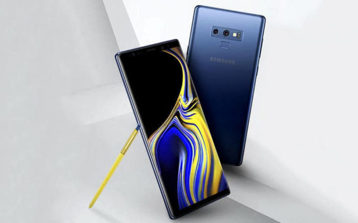 Galaxy Note 9 wallpaper disponibili al download