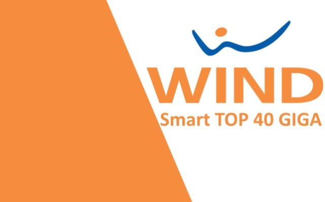 Wind Smart Top 40 giga: dettagli offerta