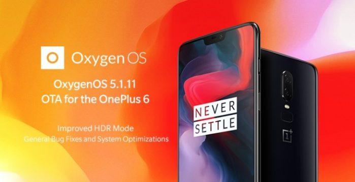 OnePlus 6 aggiornamento OxygenOS agosto 2018