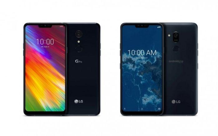 LG G7 One e LG G7 Fit ufficiali