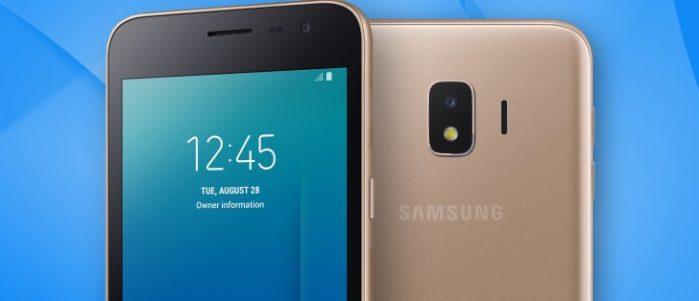 Galaxy J2 Core primo smartphone Android Go di Samsung