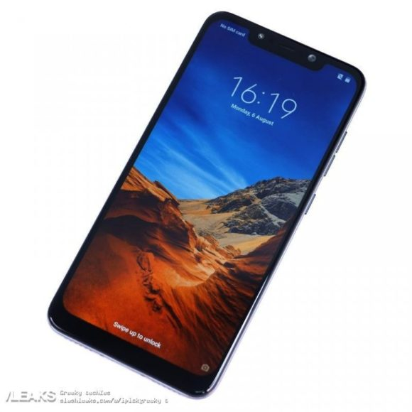 Xiaomi PocoPhone F1 rumors: immagine, Benchmark, hardware