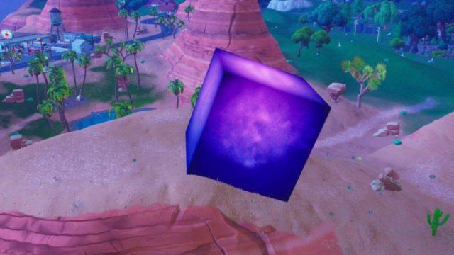 Fortnite cubo viola poteri