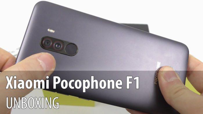 Xiaomi PocoPhone F1 primo unboxing e data annuncio
