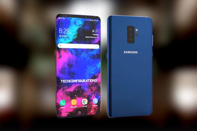 Galaxy S10 in 5 colori, 4 diversi dal Note 9