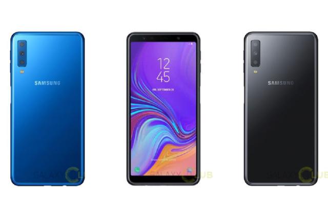 Galaxy A7 2018: Samsung porta la tecnologia tripla camera ne