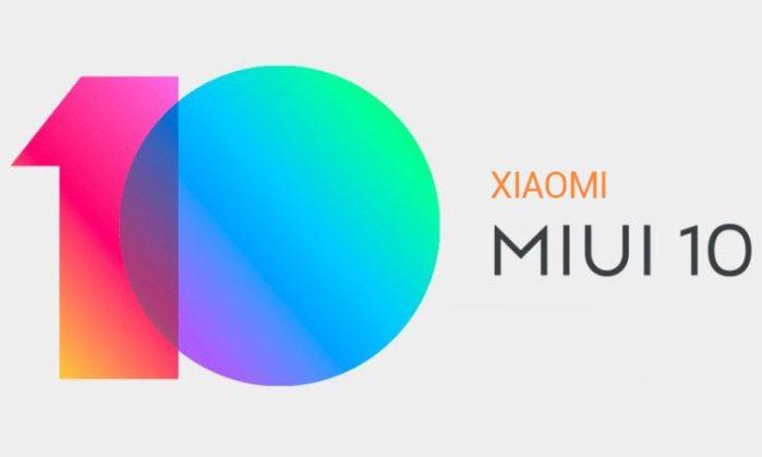 MIUI 10 Android Pie per Xiaomi MI 8