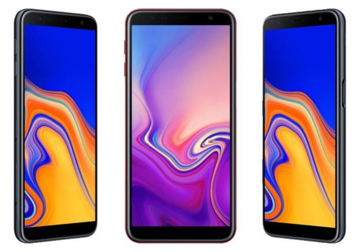 Galaxy J4+ e Galaxy J6+ ufficiali