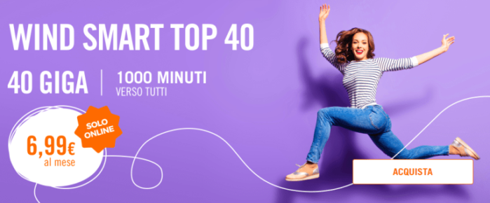 Wind Smart Top 40 attivabile