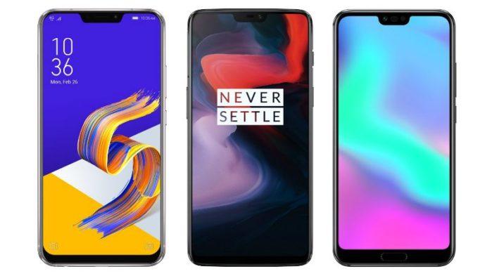 OnepLus 6, Zenfone 5, Honor 10, Xiaomi Mi A2 offerte