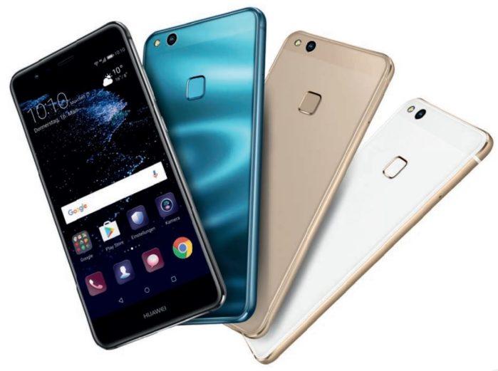 Huawei P10 Lite aggiornamento settembre 2018