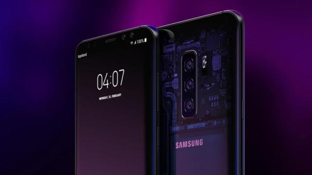 Samsung Galaxy S10 con modem 5G