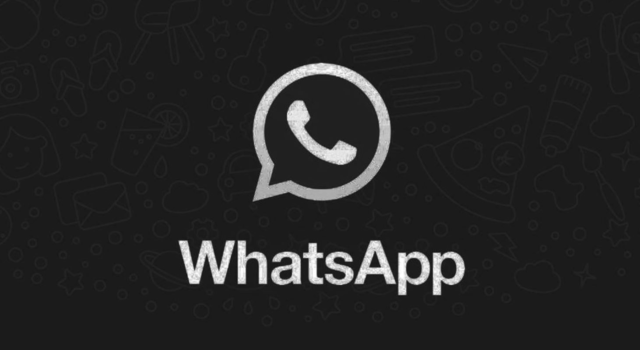 WhatsApp Android tema scuro