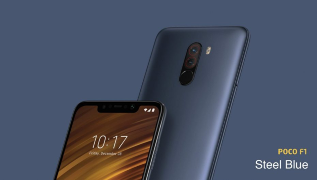 OnePlus 6, Samsung Galaxy Note 9, POCOPHONE F1 e Honor Play