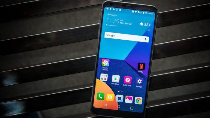 LG G6 si aggiorna a metà settembre 2018
