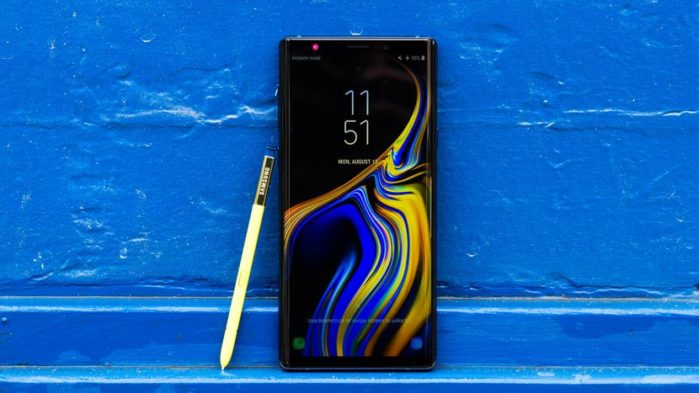 Galaxy Note 9 aggiornamento fine settembre 2018
