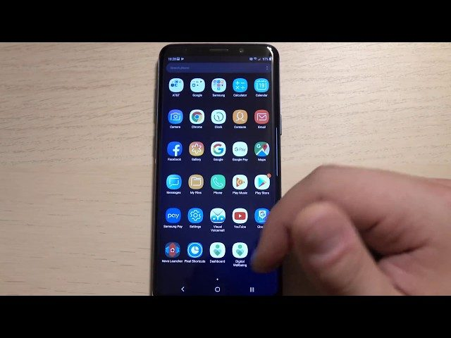 Galaxy S9 con Android Pie 9.0: il primo video dimostrativo