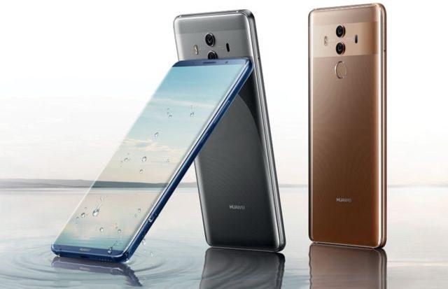 Huawei Mate 10 Pro aggiornamento fine ottobre 2018
