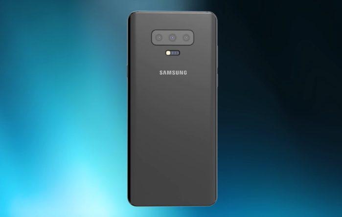 Galaxy S10 rumors tripla fotocamera posteriore