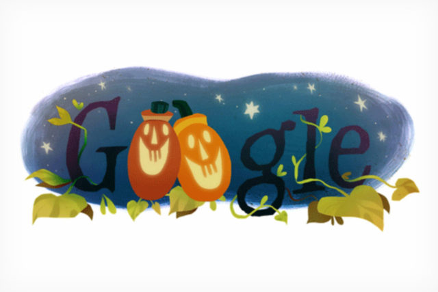 Assistente Google tema Halloween