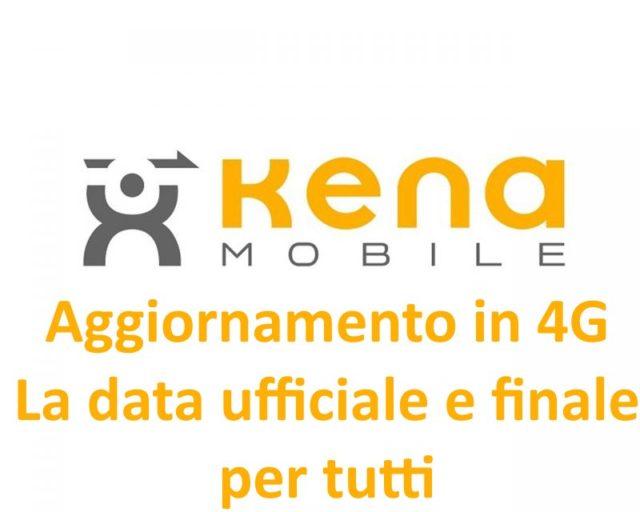 Kena Mobile aggiornamento 4G
