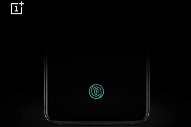 Oneplus 6T sensore sotto il display