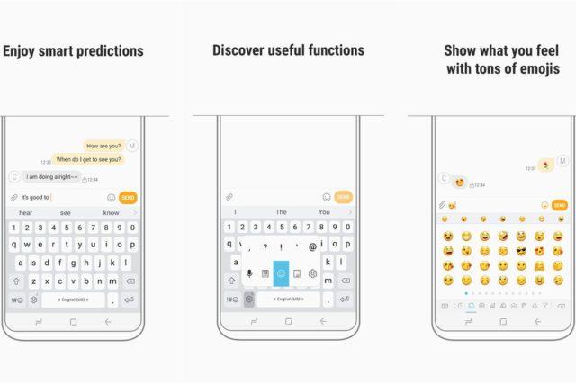 Tastiera Samsung: nuova modalità in arrivo