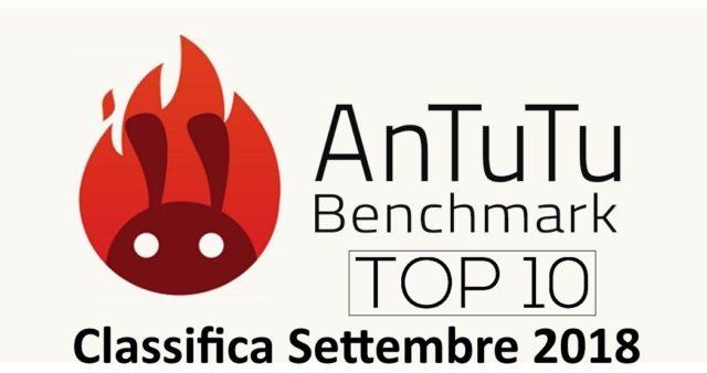 AnTuTu classifica i 10 smartphone android più veloci a sette