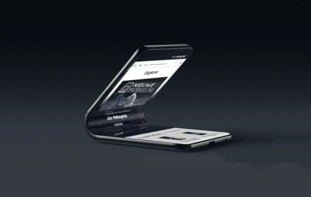 Samsung Galaxy F smartphone pieghevole rumors