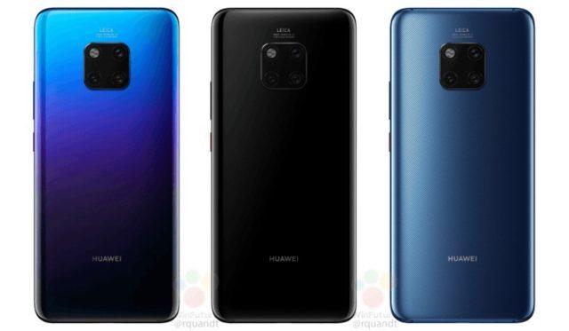 Huawei Mate 20 e Mate 20 Pro: super carica rapida a 40W?