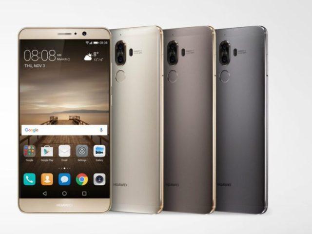 Huawei Mate 9 aggiornamento fine ottobre 2018
