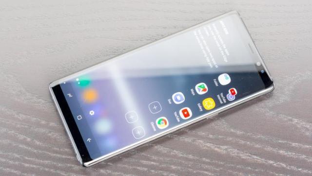 Galaxy Note 8 aggiornamento ottobre 2018
