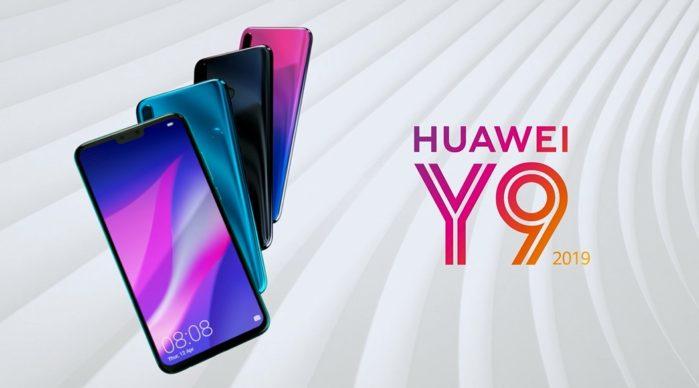 Huawei Y9 2019 è ufficiale