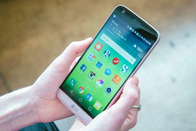 LG G5 aggiornamento Android Oreo