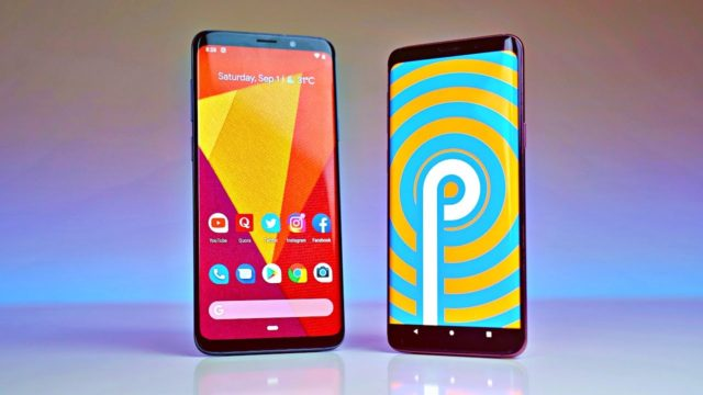Samsung Galaxy S9 Android Pie 9