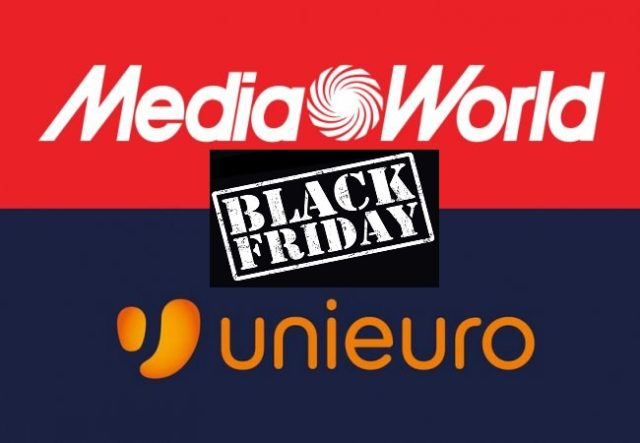 Volantino Mediaworld Vs Unieuro Black Friday smartphone