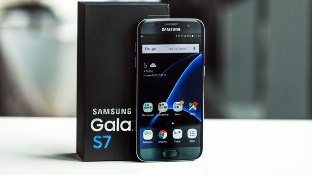 Galaxy S7 aggiornamento novembre 2018