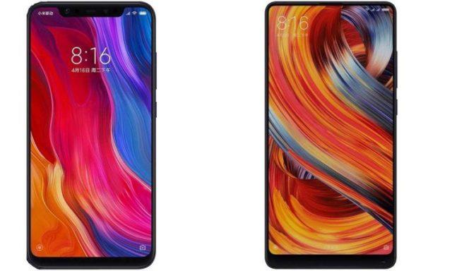 Xiaomi Mi 8 e Xiaomi Mi Mix 2s pre Black Friday