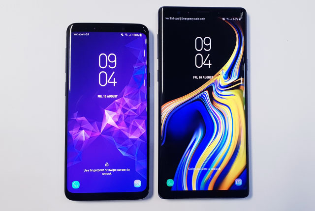 Galaxy S9 e Galaxy Note 9 Android Pie ufficiale la data