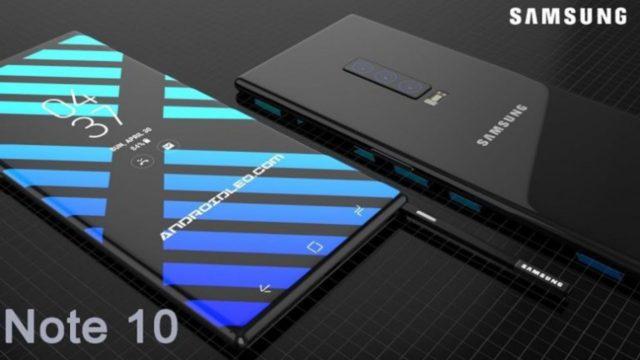 Galaxy Note 10 display 4K