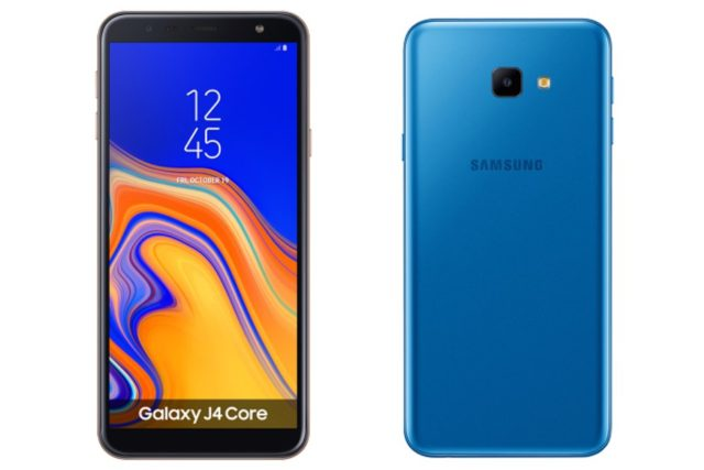Samsung Galaxy J4 Core Android Go ufficiale