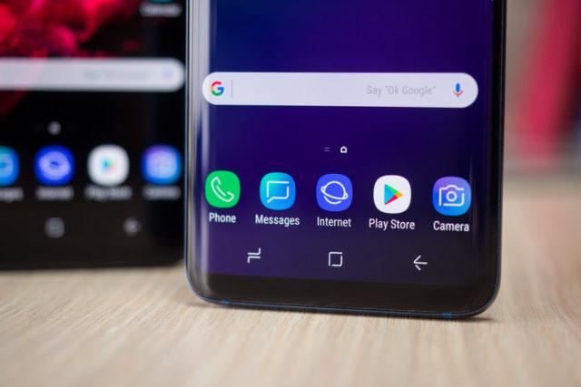 Samsung Android Pie 9.0 beta test