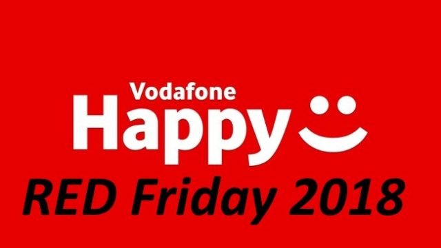 Vodafone Happy Red Friday