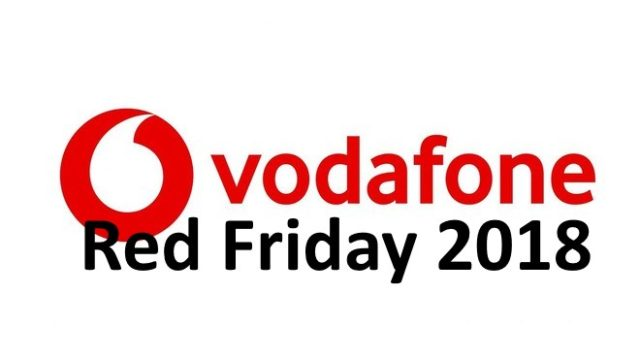 Vodafone Red Friday: offerte Black Friday 2018